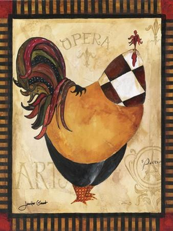 Paris Rooster I by Jennifer Garant