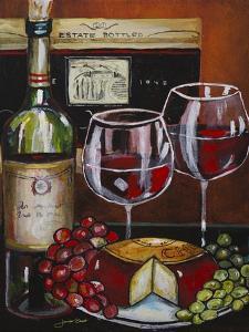 Wine and Cheese III by Jennifer Garant