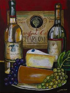 Wine and Cheese IV by Jennifer Garant