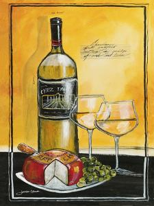 Wine Notes IV by Jennifer Garant