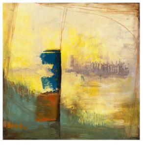 Aquamarine Aura III by Jennifer Goldberger