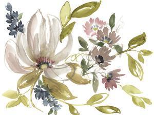 Aubergine Composition II by Jennifer Goldberger