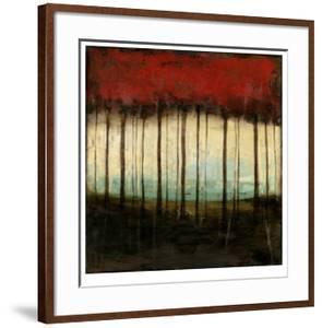 Autumnal Abstract I by Jennifer Goldberger