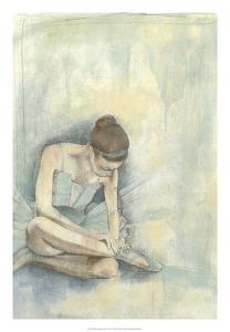 Ballerina Repose I by Jennifer Goldberger