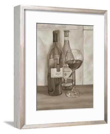 Black and White Wine Series I