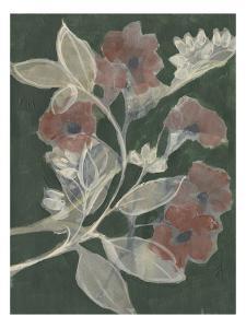 Blooms on Hunter Green I by Jennifer Goldberger