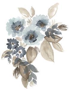Blue & Chocolate Cascade II by Jennifer Goldberger
