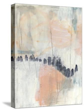 Blush & Navy I by Jennifer Goldberger