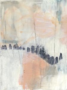 Blush & Navy I by Jennifer Goldberger