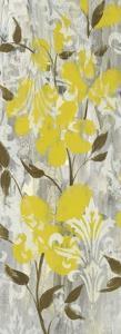 Buttercups on Grey I by Jennifer Goldberger