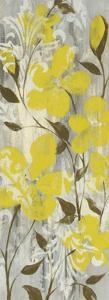 Buttercups on Grey II by Jennifer Goldberger