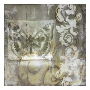 Butterfly & Ironwork I by Jennifer Goldberger