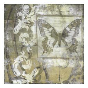 Butterfly & Ironwork II by Jennifer Goldberger