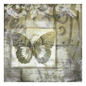 Butterfly & Ironwork IV by Jennifer Goldberger