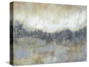 Cool Grey Horizon I by Jennifer Goldberger