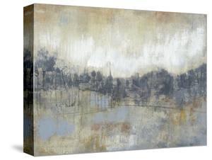 Cool Grey Horizon I by Jennifer Goldberger