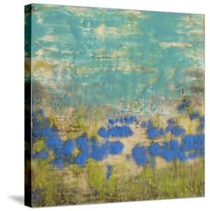 Cornflower Poppies I by Jennifer Goldberger