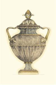 Dusty Urn Sketch IV by Jennifer Goldberger