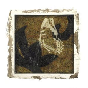 Embellished Scroll Nine Patch VIII by Jennifer Goldberger