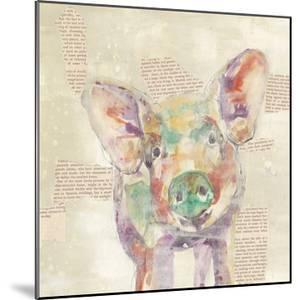 Farm Collage I by Jennifer Goldberger