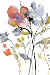 Flower Overlay I by Jennifer Goldberger