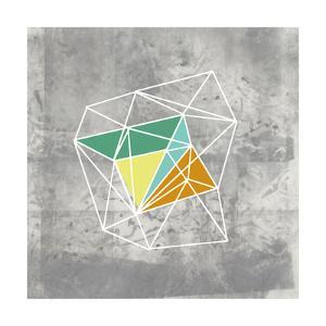 Geomolecule III by Jennifer Goldberger