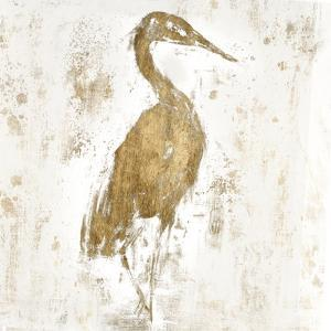 Gilded Heron I by Jennifer Goldberger