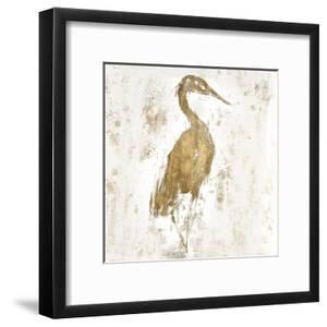 Gilded Heron I by Jennifer Goldberger