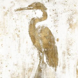 Gilded Heron II by Jennifer Goldberger