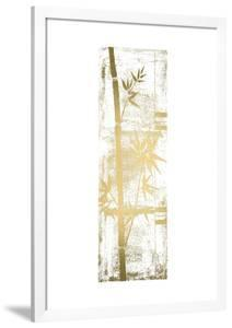 Gold Foil Bamboo I by Jennifer Goldberger