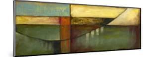 Graphic Suspension Bridge by Jennifer Goldberger