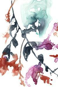 Hanging Fuchsia I by Jennifer Goldberger