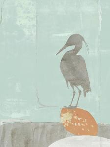 Heron Collage I by Jennifer Goldberger