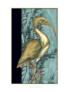 Heron in the Grass I by Jennifer Goldberger