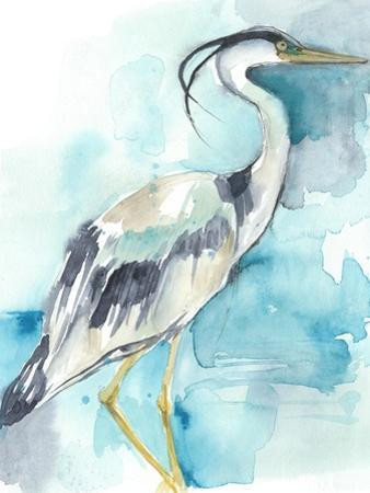 Heron Splash I by Jennifer Goldberger