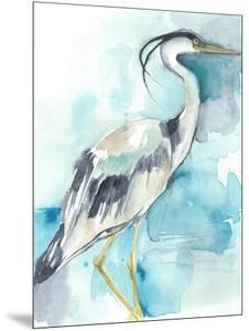 Heron Splash I by Jennifer Goldberger