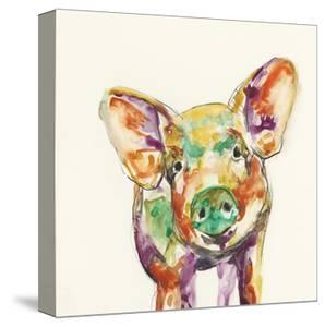 Hi Fi Farm Animals IV by Jennifer Goldberger