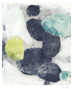Indigo Orbs I by Jennifer Goldberger