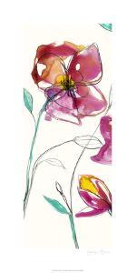 Inked Floral I by Jennifer Goldberger