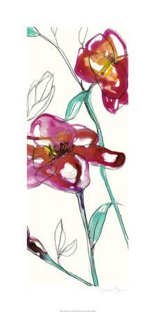 Inked Floral II by Jennifer Goldberger