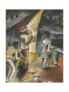 Jazz Riff by Jennifer Goldberger