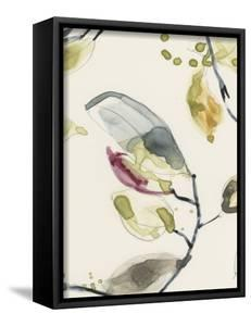 Leaf Branch Triptych II by Jennifer Goldberger