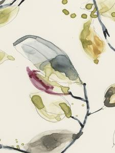 Leaf Branch Triptych II by Jennifer Goldberger