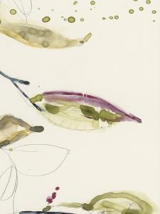 Leaf Branch Triptych III by Jennifer Goldberger