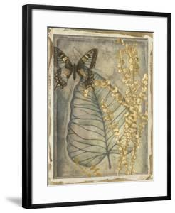 Leaf Fossil I by Jennifer Goldberger