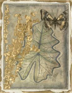 Leaf Fossil II by Jennifer Goldberger
