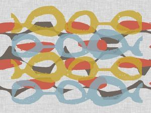 Mid Century Pattern I by Jennifer Goldberger