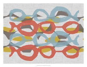 Mid Century Pattern II by Jennifer Goldberger