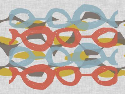 Mid Century Pattern II by Jennifer Goldberger