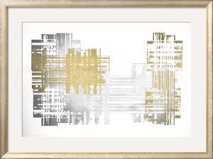 Multi Foil Matrix I by Jennifer Goldberger